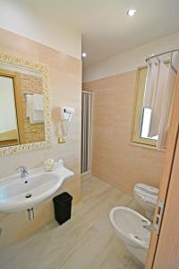 A bathroom at Hotel Incanto