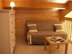 A seating area at Gîtes Bon Air