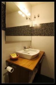 A bathroom at Hostau Era Claverola
