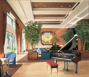 The lobby or reception area at Trident Nariman Point
