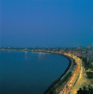 A bird's-eye view of Trident Nariman Point
