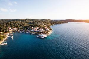 A bird's-eye view of Hotel Odisej