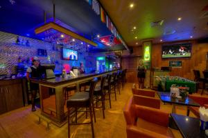 En restaurang eller annat matställe på Fortune Pearl Hotel