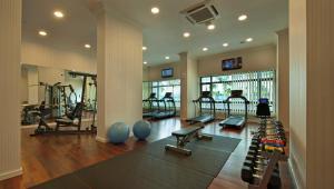 Het fitnesscentrum en/of fitnessfaciliteiten van Royale Chulan Damansara