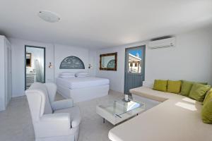 Zona de estar de Lava Suites & Lounge