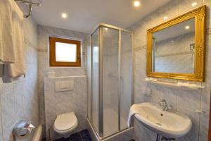 Ein Badezimmer in der Unterkunft Hotel Beretta