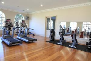 The fitness center and/or fitness facilities at Milton Park Country House Hotel & Spa