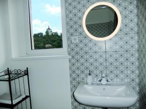 A bathroom at PANORAMA apartmán ajaj