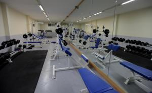 The fitness center and/or fitness facilities at Monteverde Hotel