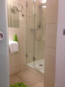 Ein Badezimmer in der Unterkunft Flörsbacher Hof