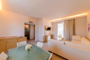 Oleskelutila majoituspaikassa Afandou Bay Resort Suites