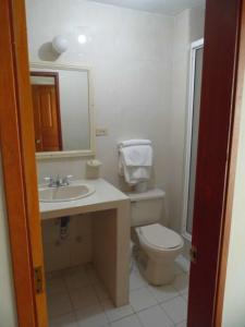 Ванная комната в Hotel Betoma