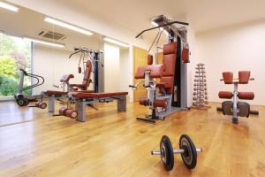Palestra o centro fitness di Rezidence Vyšehrad