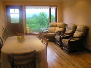 A seating area at Balnacraig