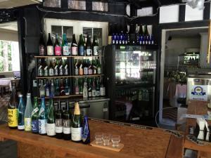 The lounge or bar area at Hakuba Sun Valley Hotel