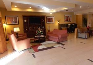 The lobby or reception area at Americas Best Value Inn & Suites Port Arthur
