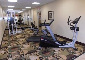 The fitness center and/or fitness facilities at Americas Best Value Inn & Suites Port Arthur