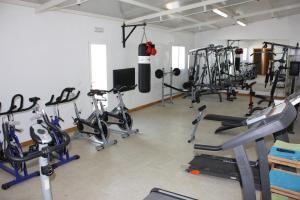 Gimnasio o instalaciones de fitness de Hostal El Palomar