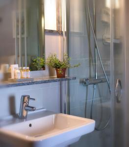 Een badkamer bij La Morada Mas Hermosa