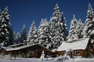Cedar Mountain Farm Bed and Breakfast LLC during the winter