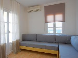 Χώρος καθιστικού στο Janos Studios and Apartments
