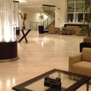 منطقة الاستقبال أو اللوبي في فندق التنفيذيين - العزيزية