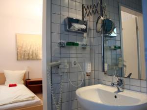 A bathroom at Hotel Villa Casa