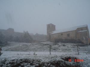 casa rural Aaiun during the winter