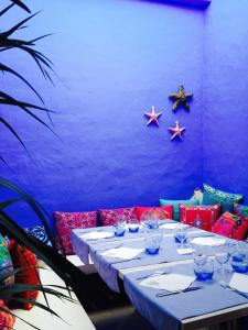 A restaurant or other place to eat at Can Segura Hotel