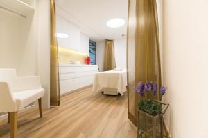 Ein Badezimmer in der Unterkunft Hotel Trofana Royal
