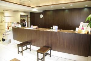 The lobby or reception area at Country Hotel Takayama