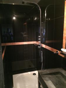 A bathroom at Hôtel Saint Alban