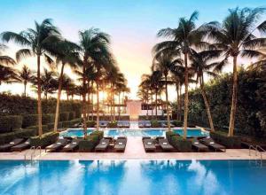 The swimming pool at or near The Setai, Miami Beach