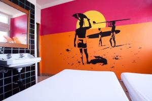 Spa and/or other wellness facilities at Hostel & Surfcamp 55