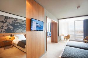 Cama o camas de una habitación en Hotel Dubrovnik Palace