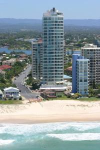 A bird's-eye view of Pacific Views Resort