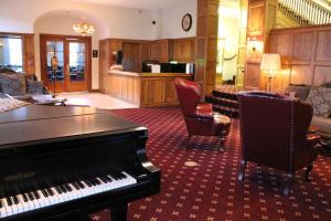 Lobby/Rezeption in der Unterkunft Boulder Dam Hotel