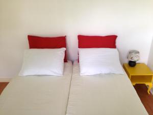 Een bed of bedden in een kamer bij Bed & Breakfast Maria