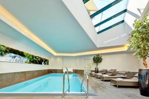 The swimming pool at or near Hotel Gabi
