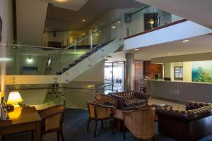 The lobby or reception area at Ocean Centre Hotel