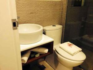 A bathroom at Boracay Haven Resort