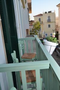 Балкон или терраса в Aegli Rooms