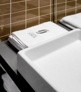 Um banheiro em Casa do Juncal