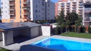 The swimming pool at or close to Solar Apartman