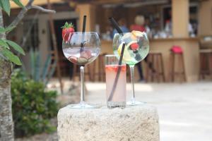 Drinks at Finca Can Toni