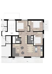 Grundriss der Unterkunft Amor Lodge
