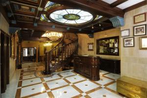 El vestíbulo o zona de recepción de Hotel II Virrey