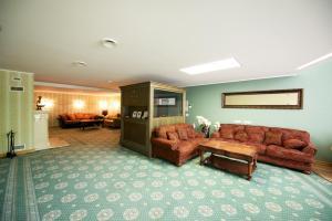 Fuajee või vastuvõtt majutusasutuses Villa Hotel Theresa