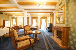 Sohvabaar või baar majutusasutuses Villa Hotel Theresa