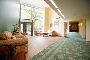 Istumisnurk majutusasutuses Villa Hotel Theresa